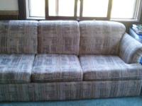 Hide-a-bed couch for sale. Pick up west of Lakeview in