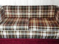 A hide a bed.bed in good condition .covering has small
