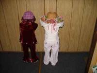 hand made time out/peek-a-boo/hide and seek dolls. boys