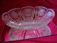 Two Rare Early American Pattern Glass Bowls in the