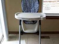 High chair in decent but used condition. Cash only.