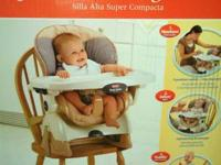 like new space saver high chair