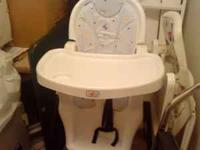 Baby connection High chair. In great condition. email