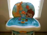 Practically new precious planet high chair. Comes from