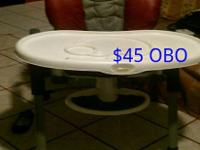 I have a high chair for sale in good condition. Also i