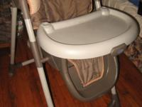 This high chair will need to have the straps replaced,