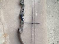 "Older High Country ""Machined Supreme"" compound bow. Has"
