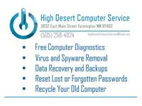 High Desert Computer Solution is the very first to