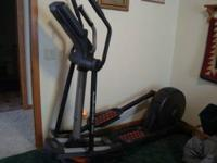 Nordic Track Audio Strider 990 Elliptical for sale. Was
