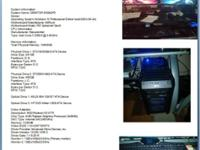 "Selling $1500.00 desktop pc with 23"" dual Acer HD"
