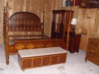 We have a Beautiful 5 pc Bedroom Set Made by Universal
