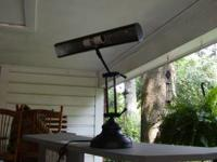 I HAVE A BEAUTIFUL HEAVY DUTY PIANO LAMP FOR SALE. IT
