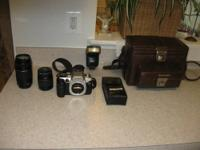 Like New, Gently Used,6 months old Canon EOS Elan II/e