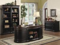 Rowan Collection: This elegant executive desk will help