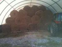 I have High Quality Hay For Sale 600 Lb. Round Bales