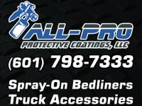 Premium Spray On Bed liners for your truck bed, Boat