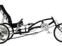 This Sun EZ-3 USX HD recumbent trike is less then two