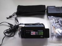 Panasonic SDR-H80 gently used for business training and