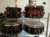 Hi there Everyone got some drum things for sale! I have