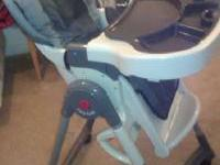Excellent Condition, adjustable EvenFlow high chair.
