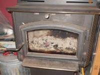 We have a woodstove that we used in our kitchen area