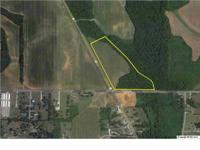 Terrific industrial corner property with 15+/- acres