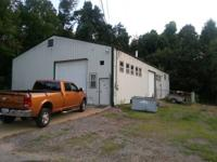 Around 1 acre. 40'x80 shop and 26'x40' structure