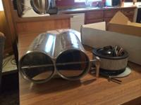 For Sale: Hilborn Double Barral Air Cleaner Intake,