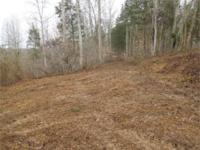 10 ac with approx 1 - 2 ac cleared (recently graded)