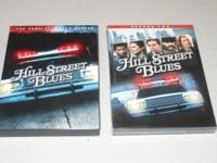 Complete set of first two seasons of Hill Street Blues