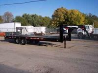 2007 Hillsboro Model 725-2X-BT Tandem Axle Flatbed
