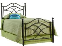 Hillsdale Furniture's Cole Bed has a classic design