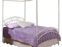 Hillsdale Furniture's Emily Canopy Bed features a