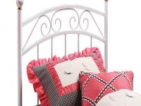 Hillsdale Furniture's Emily Headboard features a pretty