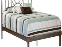 Hillsdale Furniture's Mansfield Bed has an ultramodern