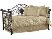 This victorian inspired daybed offers an old world