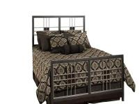 Hillsdale Furniture's Tiburon Bed has a modern and