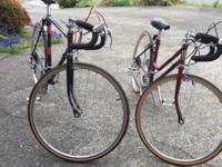 His & Hers 10-speed bikes in excellent condition!! Very
