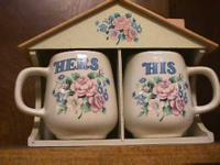 His & Hers Coffee Tea Cup  Get there 1st and check it