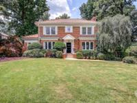 Rarely Available in Historic Druid Hills, renovated