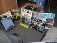 i have 30 books lots with old historical cars with pics