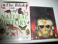 THE BOOK OF NATURAL HISTORY-HARDBACKED-(160p): $5  THE