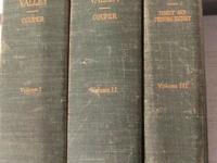 I am selling a rare 3 volume set of The History of the