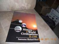WSU Gen Ed 110 history of world civilization to 1500