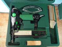 Up for sale i have this pre-owned: Hitachi Staple Gun