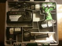 Hello all. I have a Hitachi DV 18DL Cordless Hammer