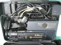 Hitachi Video Camera - with Case Nice camera, works