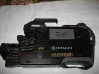 Hitachi VHS Video Camera Recorder and Player. Complete