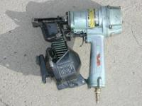 "Hitachi 1 3/4"" Air Nailer Model NV45AB 70-120 psi Nail"