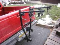Valley Hitch Bike Racks - V91150 Three bike carrier